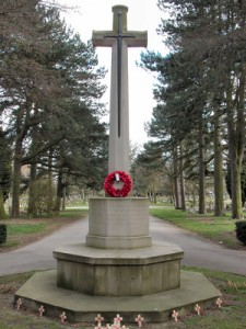 Cross of Sacrifice, Brandwood End Cemetery