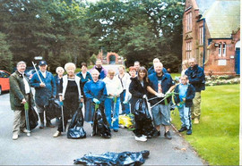 FBEC Litter Pick volunteers