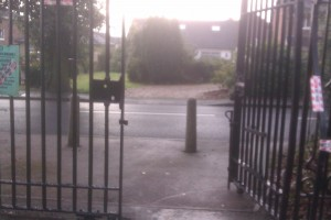Gates at Brandwood End Cemetery get a facelift